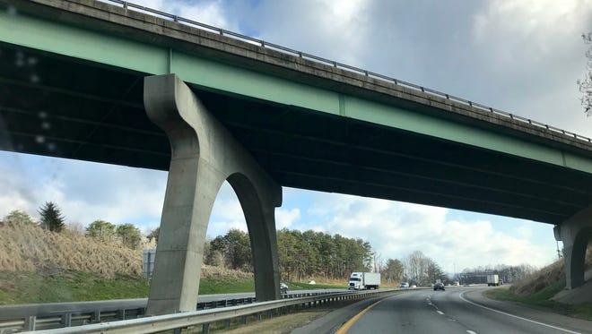Buncombe County has 444 bridges the North Carolina Department of Transportation maintains.