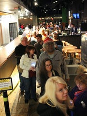 Hundreds of people attended Wednesday's special screening