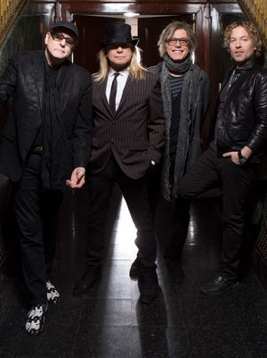 A recent publicity photo of hard-rock band Cheap Trick, which is slated to perform in Springfield Oct. 22, 2016.