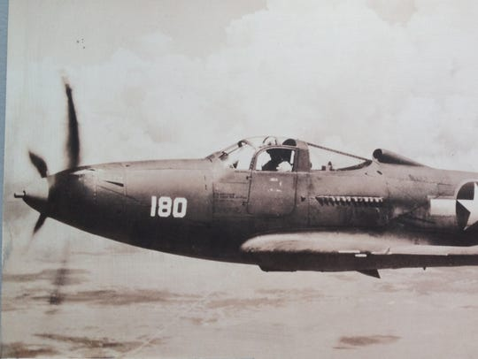 A P-39 Airacobra piloted by Lt. Frank H. Moody crashed
