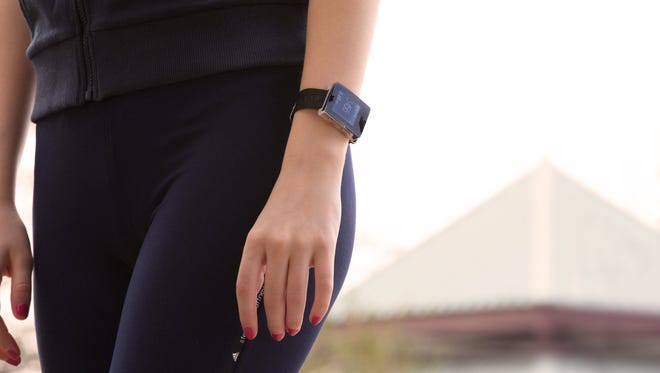 """A """"wellness watch"""" from Wellograph specifically targets style-conscious fitness buffs."""