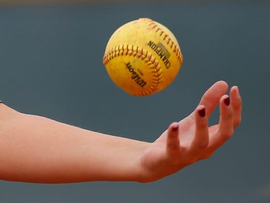 Basha High vs Hamilton High softball