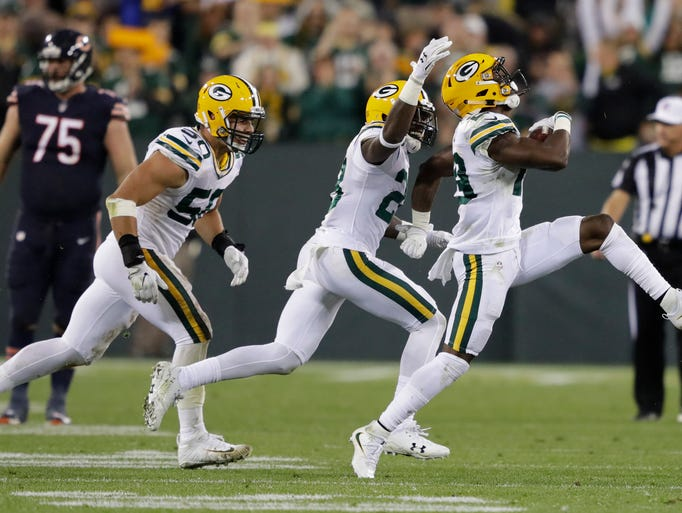 Green Bay Packers defensive back Kentrell Brice (29),