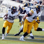 Iowa turns loose talented tandem of running backs