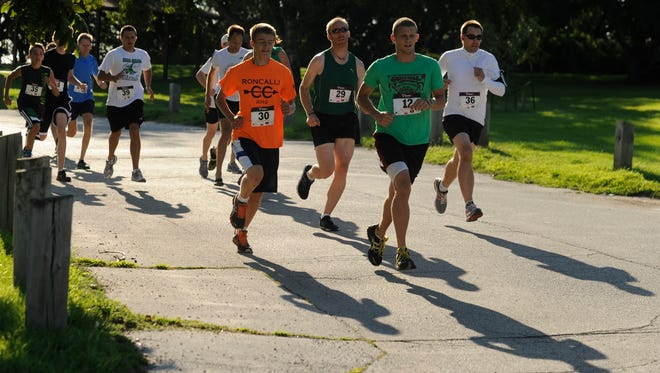In this HTR Media file photo, runners compete during the annual Carol Rose Wester Memorial Race at Red Arrow Park.