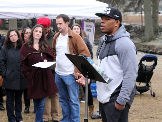 New Rochelle Anti-Violence Rally
