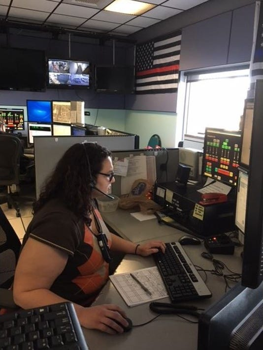 City of Mansfield-911-dispatcher-Ashley-Jeffrey.JPG