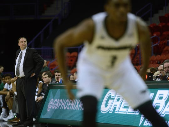 UWGB coach Linc Darner likes the way his team is buying into his system.