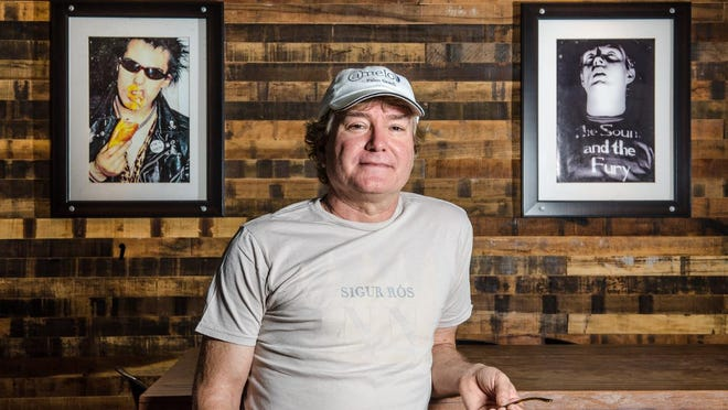 Rodney Mayo stands last year in his Hullabaloo restaurant at 517 Clematis St. in downtown West Palm Beach.