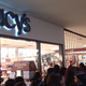 Shoppers enter Macy's on Thanksgiving Day 2017 for Black Friday deals.