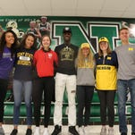 Colleges nab seven Novi athletes as early signees