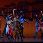 """An opening scene from the Detroit premiere of """"Motown: The Musical"""" at the Fisher Theatre on Wednesday night."""
