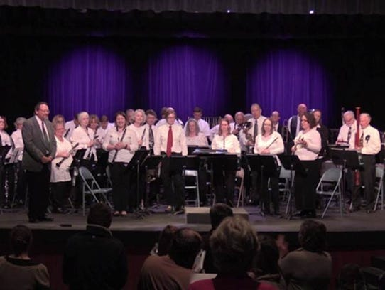The University of Providence Community Band performs