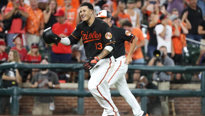 Manny Machado can't stop hitting grand slams, which is very good for his free agent value.