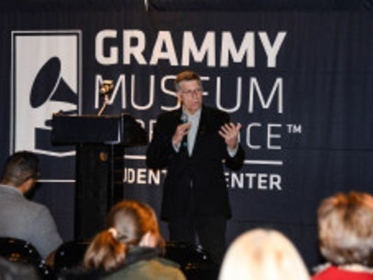 Robert Santelli, executive director of The Grammy Museum