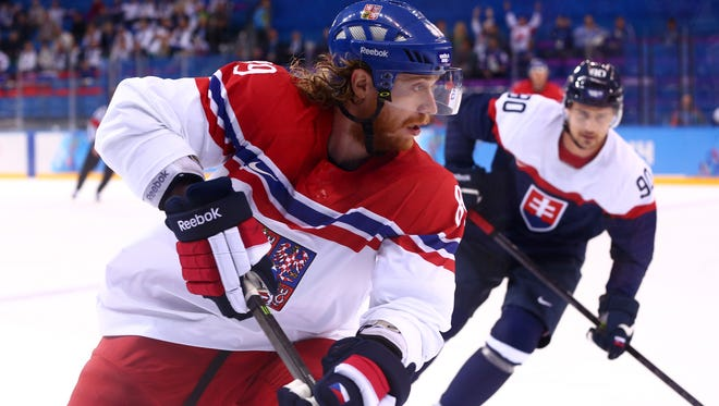 Jake Voracek would certainly be on the Czech Republic Olympic roster...if the team is allowed to pull from a pool of NHL players.