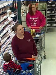 Police want to identify the two women in this photograph.