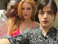 Bella Thorne puts on her best model pout with a pair