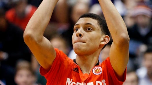 Justin Jackson has signed to play college basketball for North Carolina.