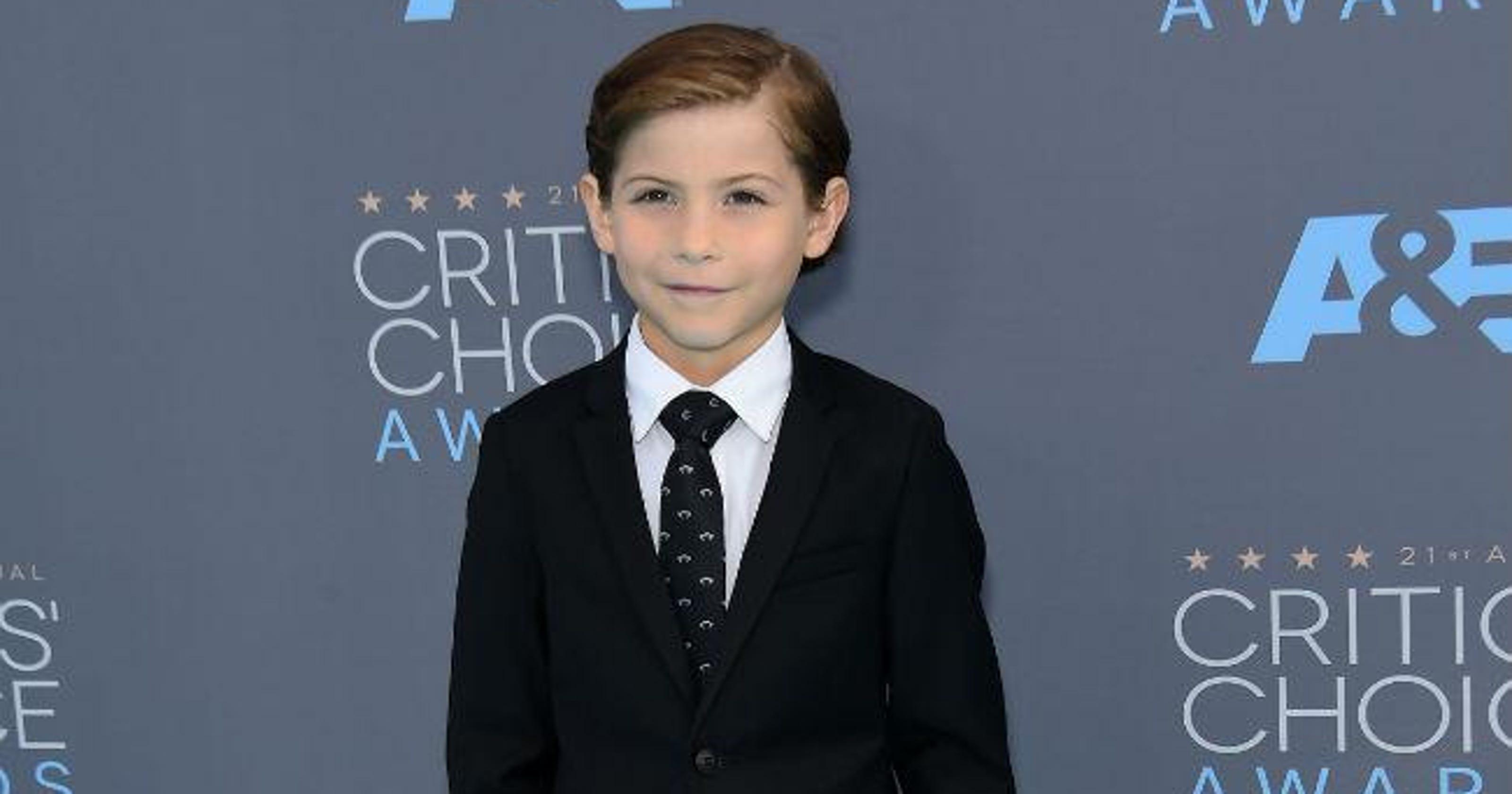 43fec31930b53 Jacob Tremblay melts hearts with speech at Critics  Choice Awards