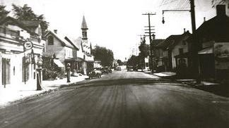 A photo of Newark's Main Street in 1940 is shown. The image is part of the Newark Historical Society's collection at the Newark History Museum, reopening Sunday.