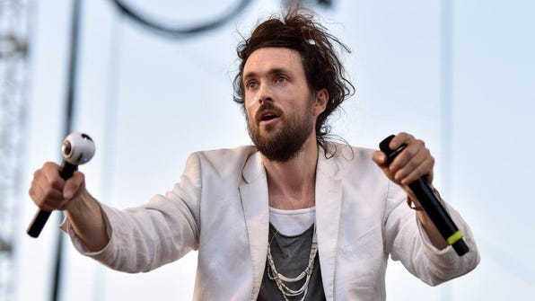 """Edward Sharpe and the Magnetic Zeros, fronted by Alex Ebert, is touring behind its new album """"PersonA,"""" and making a stop at the Pabst Theater May 18."""