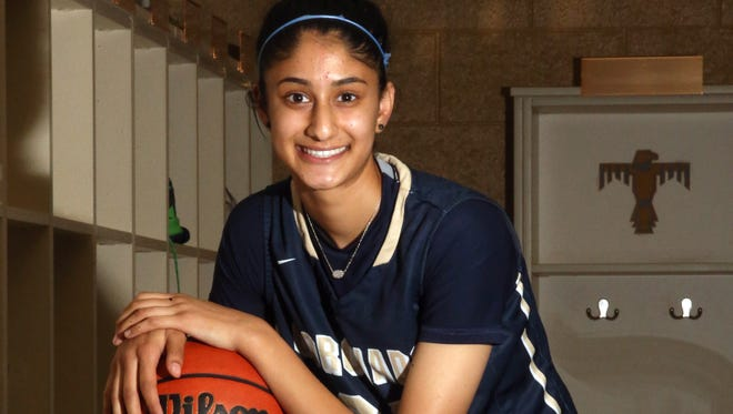 Coronado basketball player Nehaa Sohail is a Division 1 prospect.