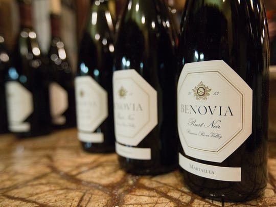 Benovia was the featured winery at Scott and Mary Fischer's vintner dinner Friday in Fort Myers. The dinner was part of the Southwest Florida Wine and Food Fest.