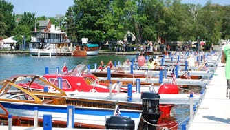 39th Annual Antique & Classic Boat Show in Skaneateles.