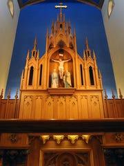 St. Mary Catholic Church unveiled their renovation