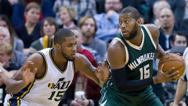 Greg Monroe is in the first year of his new contract with the Bucks.