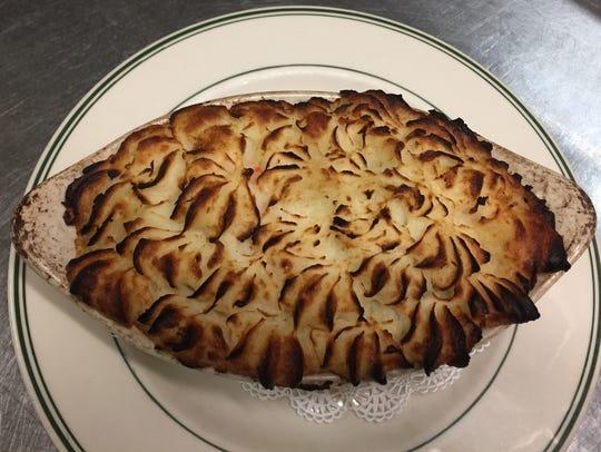 Mannion's Shepherd's Pie from Mannion's Pub.
