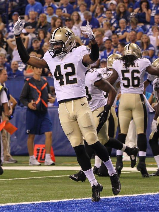 NFL: Preseason-New Orleans Saints at Indianapolis Colts