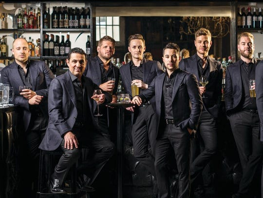 The Ten Tenors are touring the U.S. behind their just