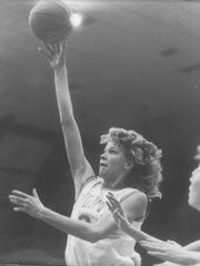 Lisa McLeod, an all-time great  at C.M. Russell High