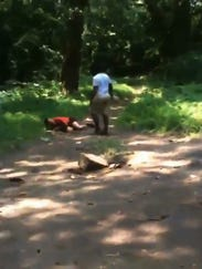 Mentally_Challenged_Man_Over_20_Years_Old_Getting_Beat_Up_By_Teenagers_In_Ne (7)