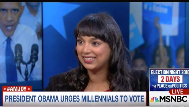 Versha Sharma's interview President Obama for NowThis News was featured on MSNBC. Sharma is a Centenary College alum and Alexandria-native.