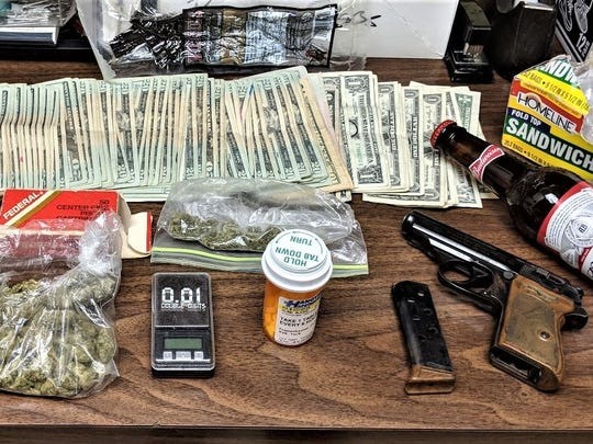 Items recovered by Hanover Borough Police Department