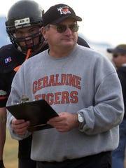 -  -GFT, 26.11.2003:3S --Geraldine Tigers head coach