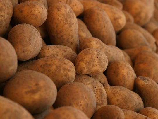 Germany's King Frederick William realized that potatoes