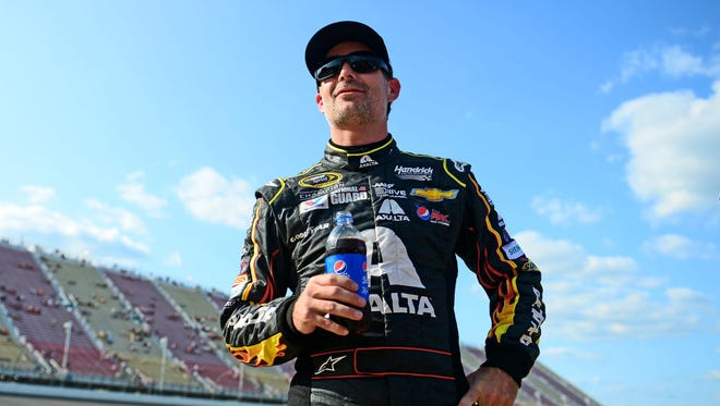 Jeff Gordon scored his third win of the season and his 91st career victory at Michigan International Speedway on Aug. 17.