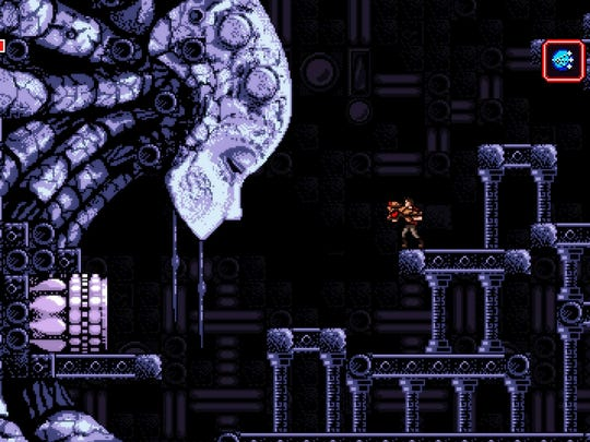 "Built by one person, ""Axiom Verge"" is a love letter to the early 2D adventures of Samus Aran."
