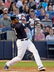 Yankees' Aaron Hicks.