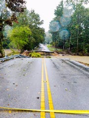 Dam failures in October 2015 in South Carolina forced