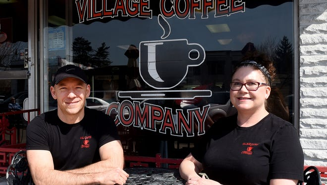 Chad and Brigette Short, owners of Village Coffee Company in Granville, purchased the existing coffee business on North Prospect in 2000. Soon after they moved to the current location on East Broadway.