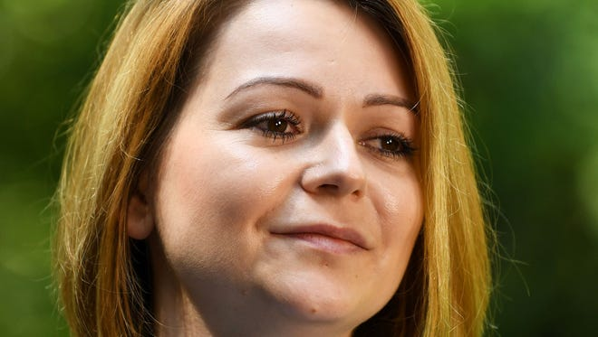Yulia Skripal, who was poisoned in Salisbury along with her father, Russian spy Sergei Skripal, speaks in London on  May 23, 2018.