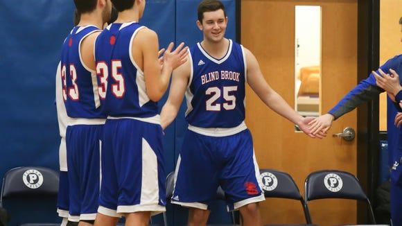 Blind Brook's Jordan Schoen returns to the court at