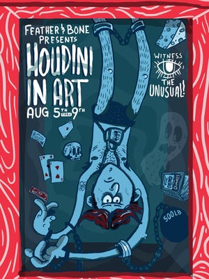 Houdini in Art poster.