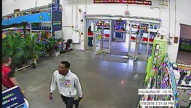 This is one of two men who passed counterfeit money at a Smyrna home improvement store.