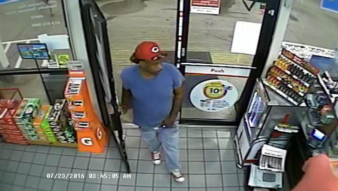 This man is wanted for questioning in the murder of Billy Ray Plunk July 23, 2016.